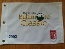 Baltimore Golf Classic pin flag Hayfields Country Club JC Snead open ryder pga