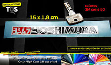 Yoshimura pegatina sticker exhaust 02 decal aufkleber 3M 50 adesivi autocollant