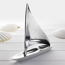 Large Aluminium Sailing Boat Yacht Ornament Nautical Gift
