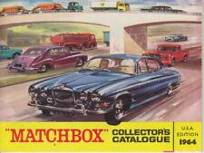Matchbox / Lesney 1964 Jahreskatalog USA perfekt