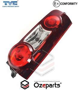 RH RHS Right Tail Light Lamp For Citroen Berlingo Gen 4 2012~2017 Tinted Red
