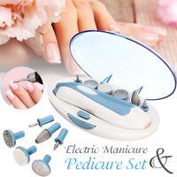 Professional Electric Manicure Pedicure Beauty Nail Art File Drill Tool Set Kit