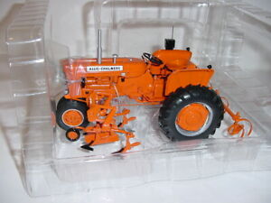 "1/16 Allis-Chalmers ""High Detail"" D14 Tractor W/2-Row Cultivator NIB! AC Show!"