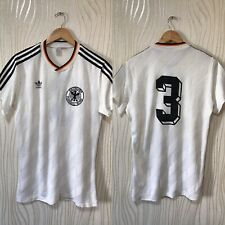 WEST GERMANY 1986 1987 HOME FOOTBALL SHIRT JERSEY ADIDAS VINTAGE MATCH WORN #3 R
