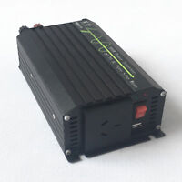 Car Power Inverter Pure Sine Wave 300W 12V/24V to120V/220V/ 240V 50HZ  USB Port