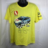 Danica Patrick Signed Brian Scott Richard Petty Safeway NASCAR Racing T-Shirt