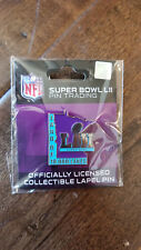 2018 SUPER BOWL LII 52 EXCLUSIVE WINCRAFT MINNESOTA LAND OF 10,000 LAKES PIN