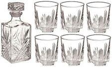Bormioli Rocco Selecta Glass Cut Decanter - 1000ml & Set of 6 280ml Glasses