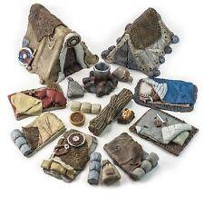 Bandit's camp - D&D, Frostgrave, dungeon terrain, dwarven forge, Mordheim