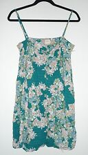 O'Neill Junior's Brice Floral Button Front Dress Small NWOT