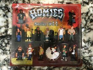 Homies Series 11 Display Pack Original Vending Blister Display Homie #11 Watch!
