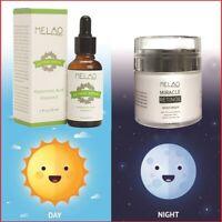 ✅ PURE RETINOL AGE SERUM 2.5% + 100% HYALURONIC ACID - 72% Organic / FREE📮💯🌟✨