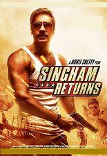 Singham Returns (2014) - Ajay Devgn, Kareena Kapoor - bollywood hindi movie dvd
