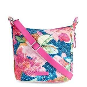 NEW Vera Bradley Carson Mini Hobo Crossbody 'Superbloom' Handbag Purse
