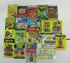 PARODY/HUMOR TRADING CARDS PACK LOT 20 SEALED PACKS WACKY,WEIRD,SILLY,STUPID ETC