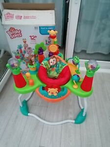Bright starts jumperoo explore and roar  bouncer baby toy activity jumping