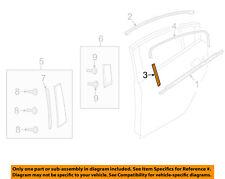 MAZDA OEM 14-17 6 Exterior-Rear-Black Out Tape Right GHP9508V200