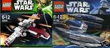 2x LEGO Star Wars + The Clone Wars Z-95 vs Vulture Droid  30240 30055