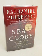 Philbrick SEA OF GLORY U. S. Exploring Expedition 2003 HC/DJ 1stEd SIGNED