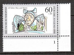 BRD 1990 Mi. Nr. 1455 Eckrand 4 Formnummer 1 Postfrisch LUXUS!!! (7933)
