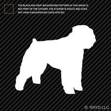 (2x) Bouvier des Flandres Sticker Die Cut Decal Self Adhesive Vinyl dog canine