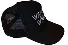New Quality Embroidered Wayne's World Contrast Trucker Cap Hat
