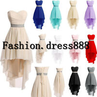Fashion Short Prom Party Bridesmaid Dress Evening Stock Cocktail Dress Size 6-18