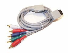 NINTENDO Wii WiiU Wii U YPbPr COMPONENT AV HDTV CABLE LEAD NEW UK Seller