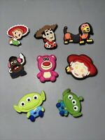 Toy Story Lot Of 8 Shoe Charms, Bracelet ,lace Adapter Charms Woody & More