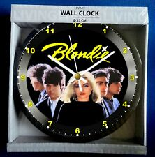 Wall Clock Featuring Blondie