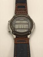 Casio LW-22H Women's Watch Illuminator Alarm Chronograph Digital Watch Bin S