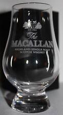 MACALLAN GLENCAIRN WHISKY TASTING GLASS W/ BLACK & GOLD PRESENTATION BOX