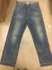 RRL Women's CRAFT WORKER Jeans size 29 BUCKLE BACK paint