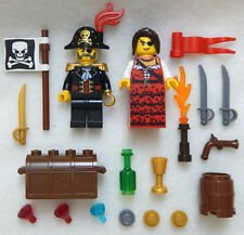 NEW LEGO PIRATE WEDDING COUPLE MINIFIGS figures minifigures bride groom lot