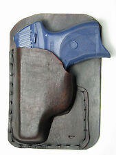 Right Pocket Leather Holster for the Ruger LC9 without laser attached