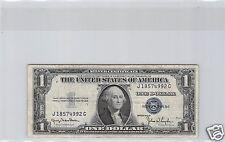 USA ETATS-UNIS SILVER CERTIFICATE 1$ DOLLAR 1935 D J-G N° 18574992