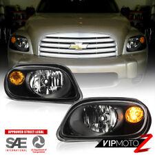 2006-2011 Chevy HHR LS LT 2LT SS Black LEFT+RIGHT Headlights Assembly w/ Bulbs