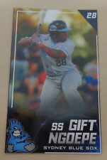 2019/20 Sydney Blue Sox (Aussie Baseball) GIFT NGOEPE - Lehigh Valley IronPigs