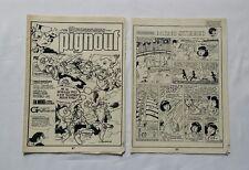 BD - Lot Supplement Journal Spirou 2053 & 2054 Pignouf / 1977 / DUPUIS