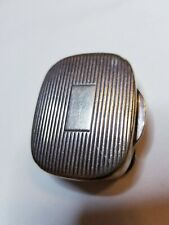 Antique Tiffany & Co Ribbed Sterling Silver Pill Box  925