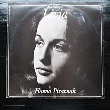 LIVIA - HANNA PIRANNAH  - LP - LUISTERLIEDJES