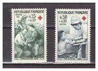 S24887) France 1966 MNH New Red Cross 2v