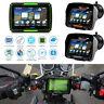 "4.3"" Touch Screen Waterproof Motorcycle Car GPS Navigation Sat NAV Bluetooth 8GB"