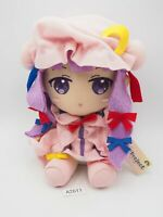 "Touhou Project A2611 Patchouli Knowledge TAITO Prize Plush 7"" Toy Doll Japan"