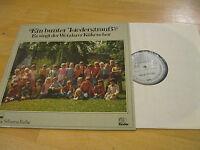 LP Frohe Botschaft im Lied Bunter Liederstrauß  Vinyl HSW 2493 Silberne Reihe
