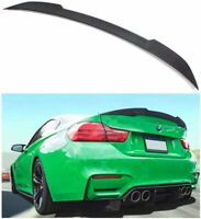 Rear Trunk Spoiler Wing M4Style Fits for BMW F30 3Series12-17 Carbon Fiber Style