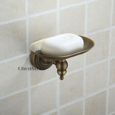Antique Brass Bathroom Soap Dish Wall Mount Soap Holder C34