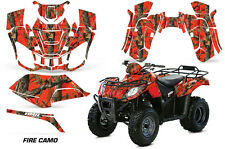 AMR Racing Arctic Cat Utility 250 ATV Graphic Kit Wrap Decal Sticker 06-09 FIRE