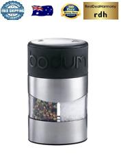 Bodum: Twin Salt & Pepper Grinder - Black