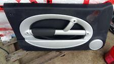 BMW Mini R50 R53 Türverkleidung links schwarz silber kleine Druckstelle ob Kante